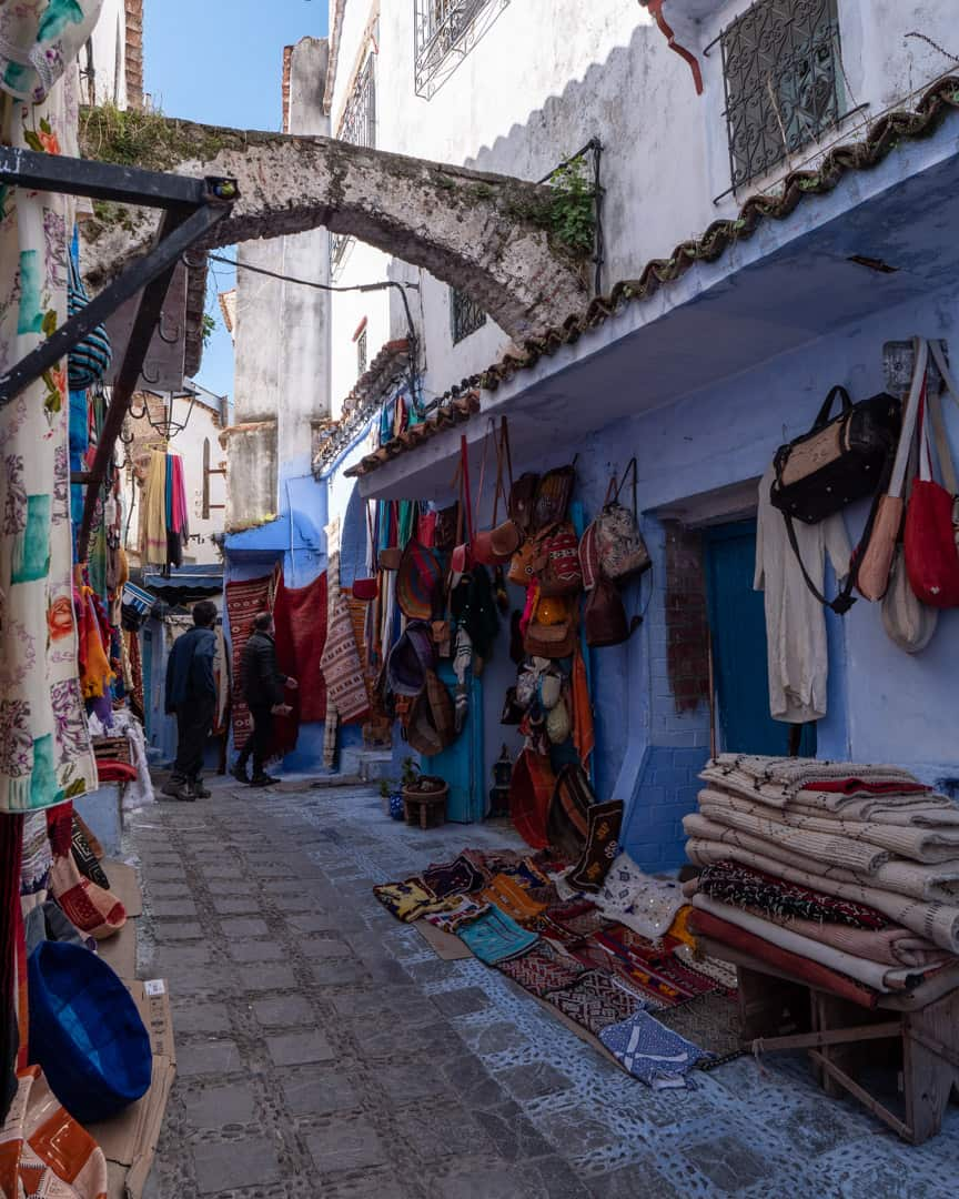 Morocco-Chefchaouen-street