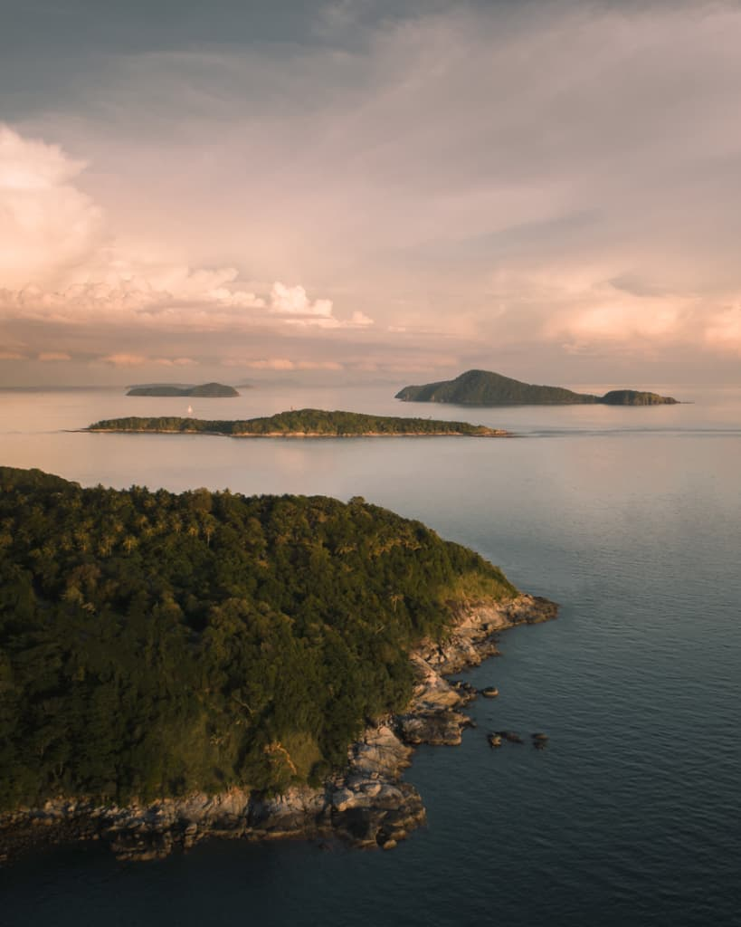 Promthep-cape-Phuket-Thailand-island-drone