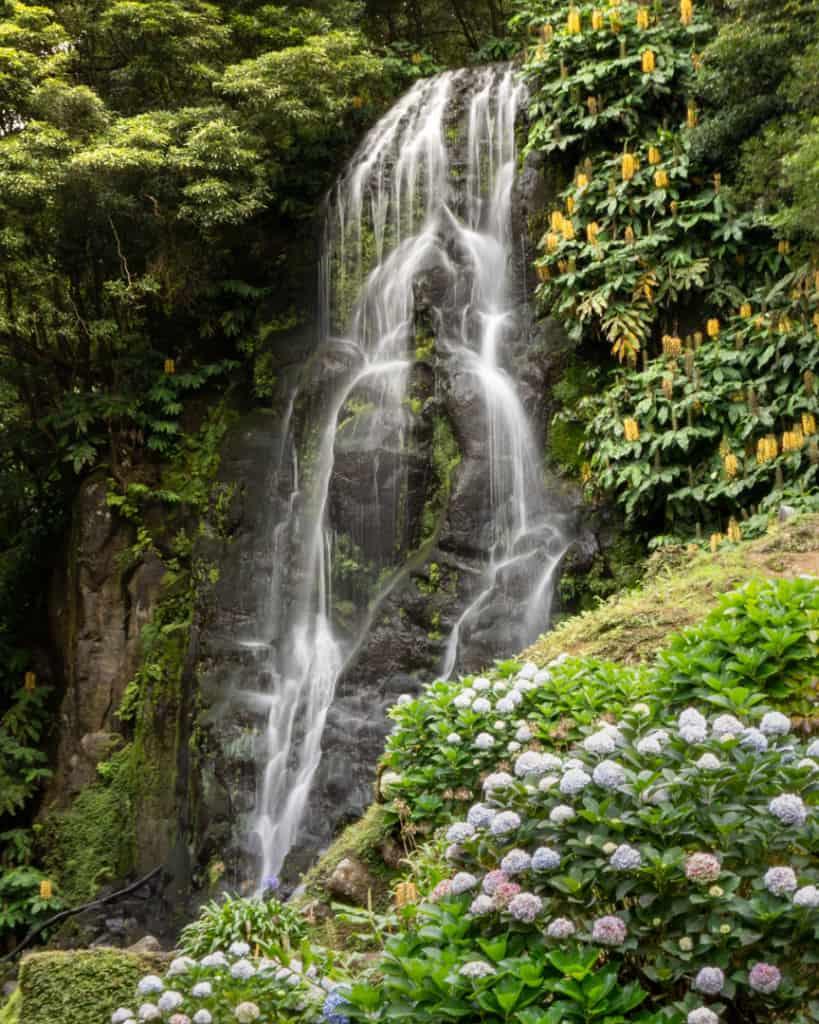 ribeira dos caldeiros waterfall Sao Miguel Azores best photography spots