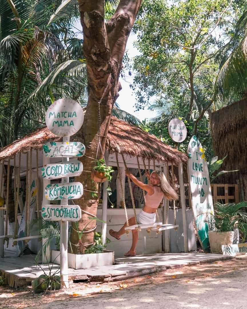 matcha-mama-swing-tulum-to-do-Mexico