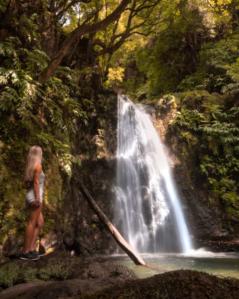 salto do prego waterfall sao miguel azores best photography spots