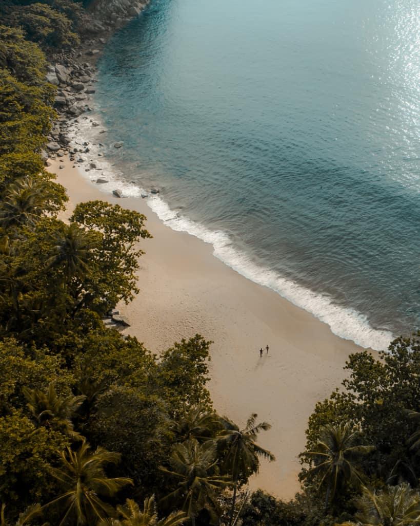 secret-beach-Phuket-Thailand-drone-couple