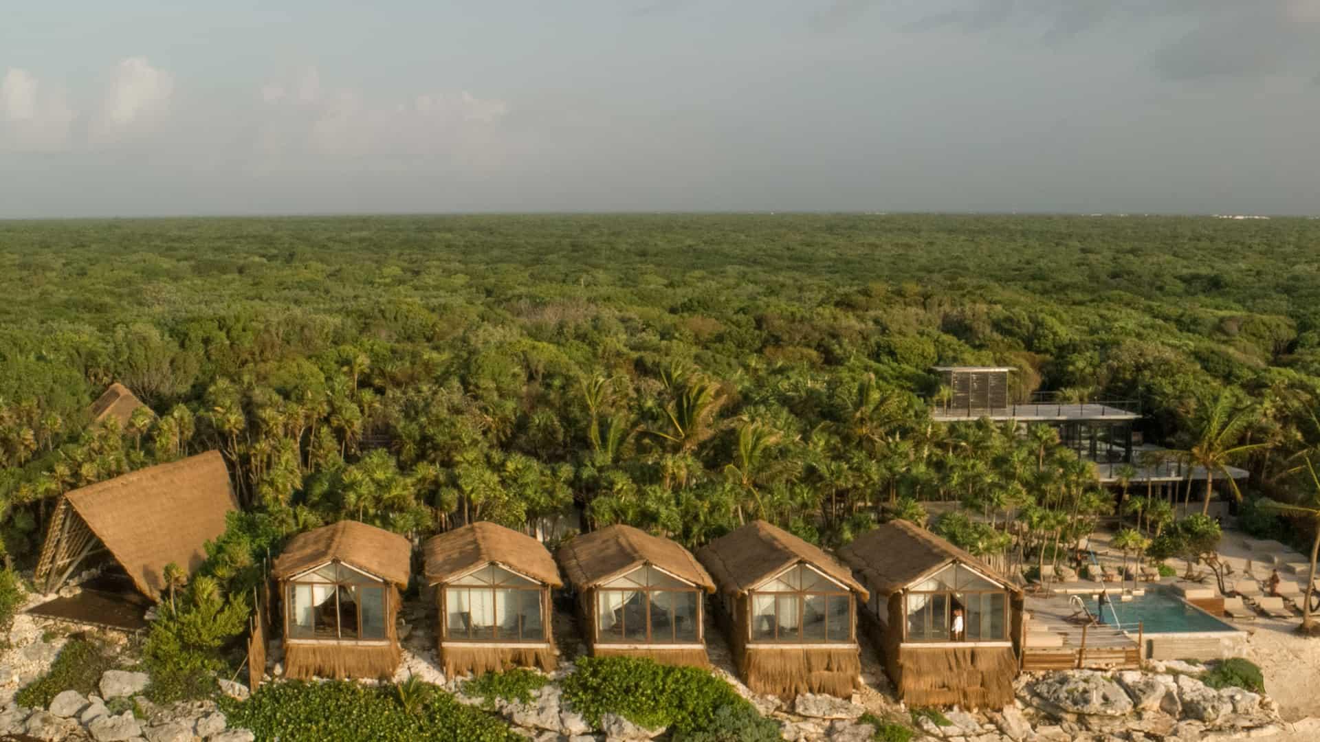 Habitas-Tulum-review-drone-overview