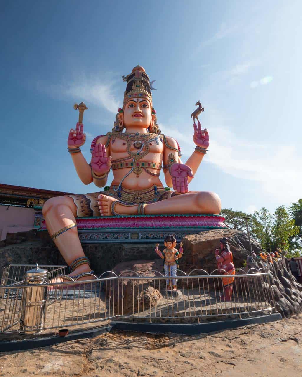 Thirukkoneswaram-Kovil-statue-Trincomalee