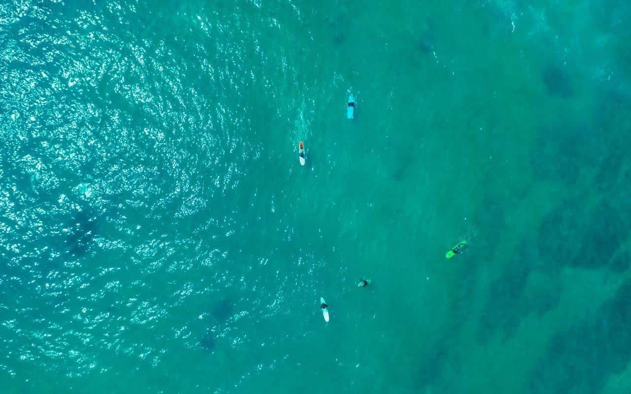 hiriketiya-beach-surfers-drone