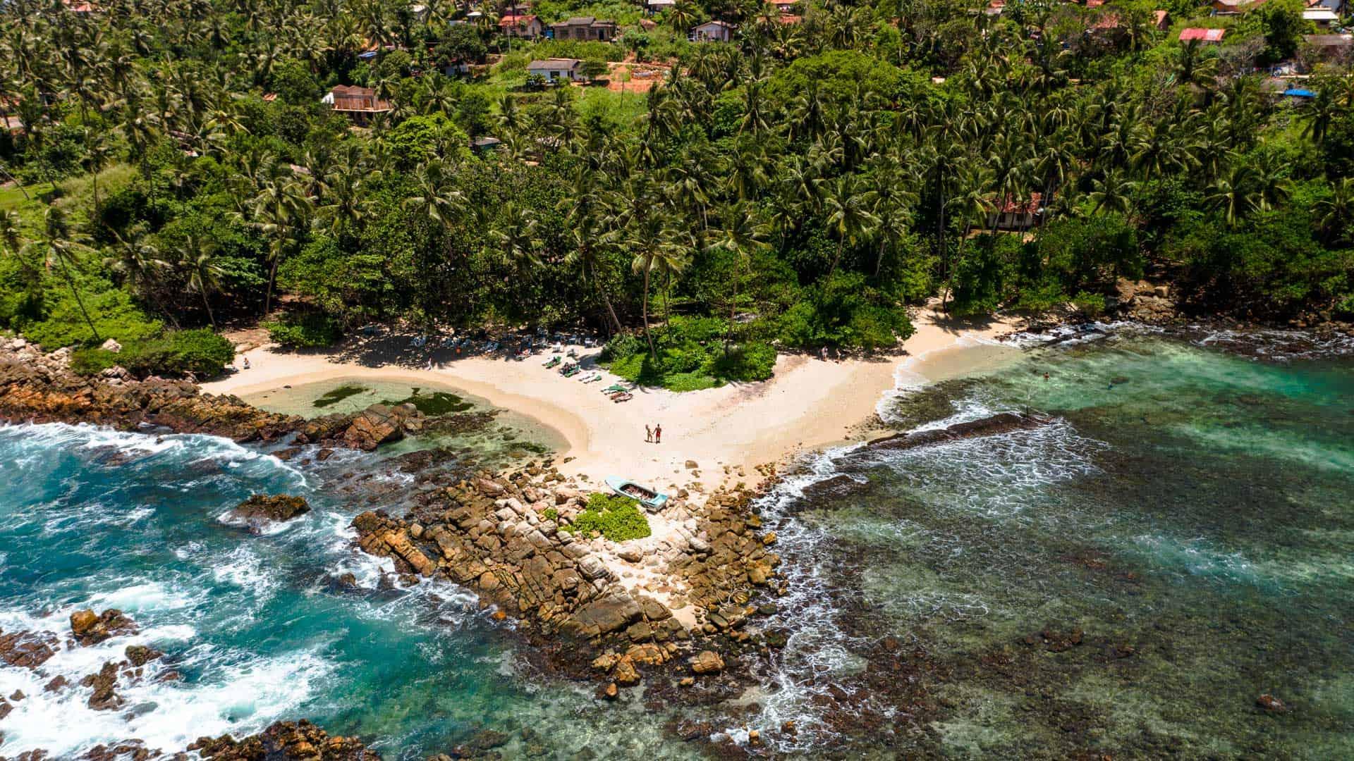 secret-beach-mirissa-drone-overview