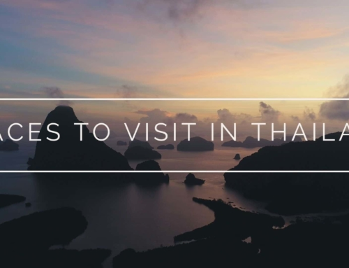 Places to visit in Thailand (Aerial drone film)