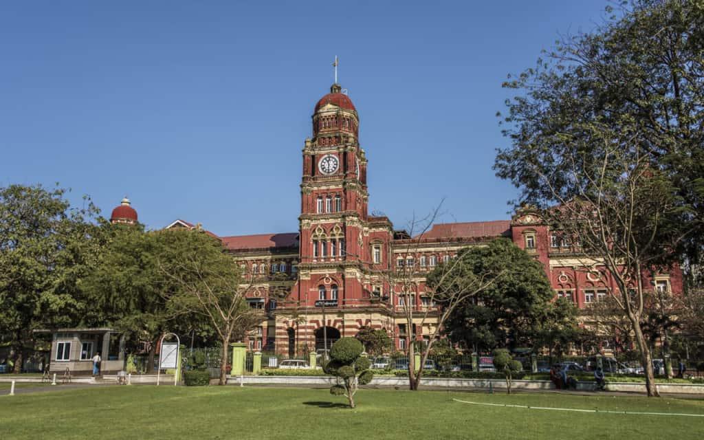 colonial-buildings-yangon-myanmar