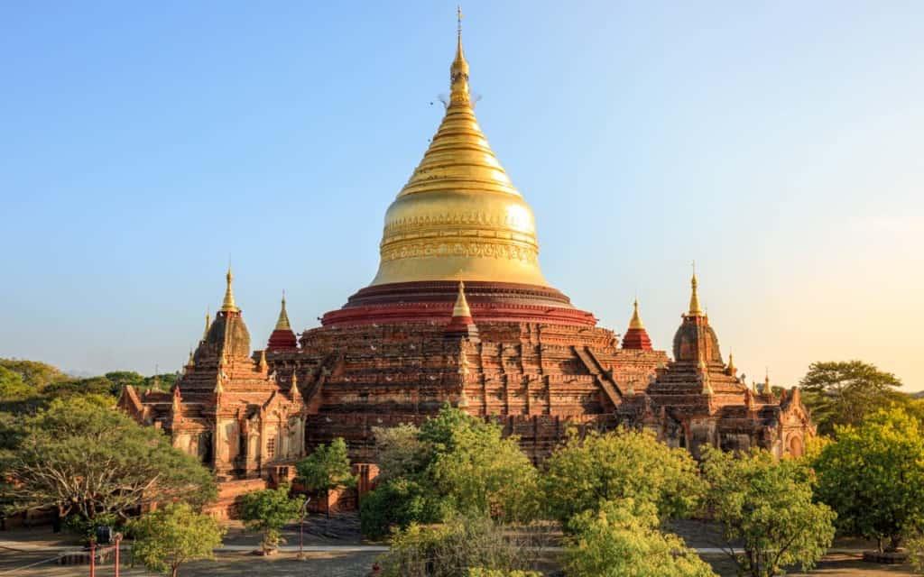 Dhammayazika-Pagoda-bagan-myanmar