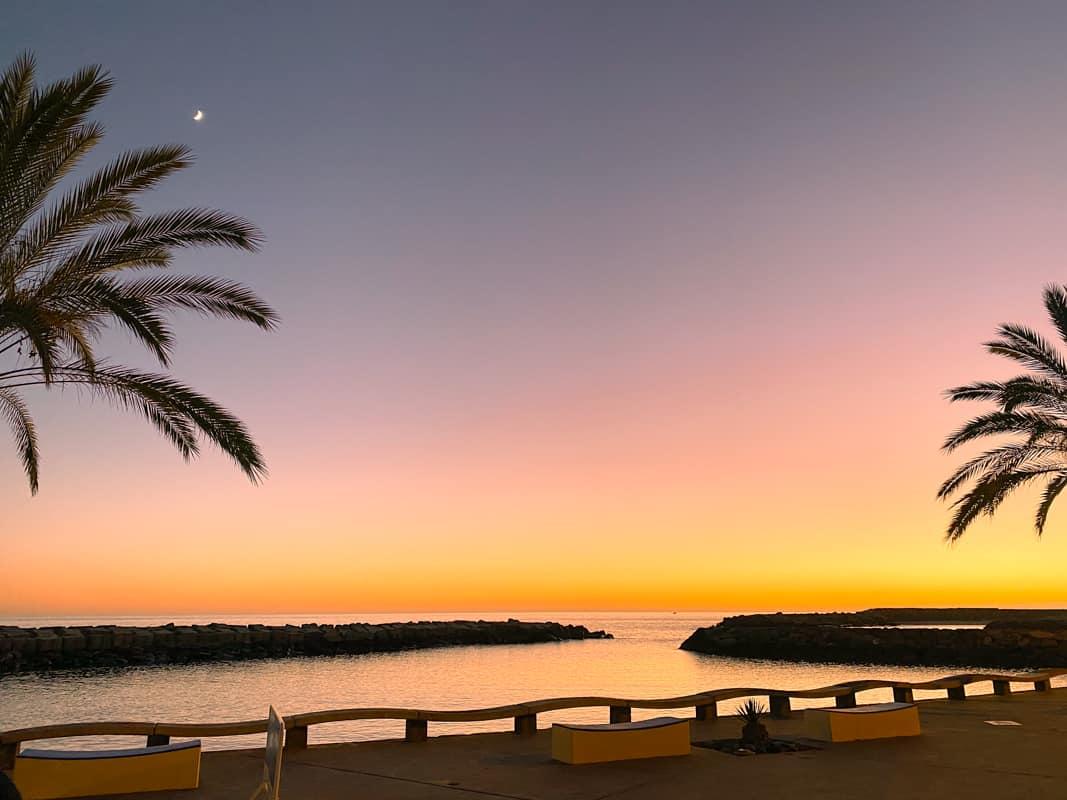 calheta-beach-sunset