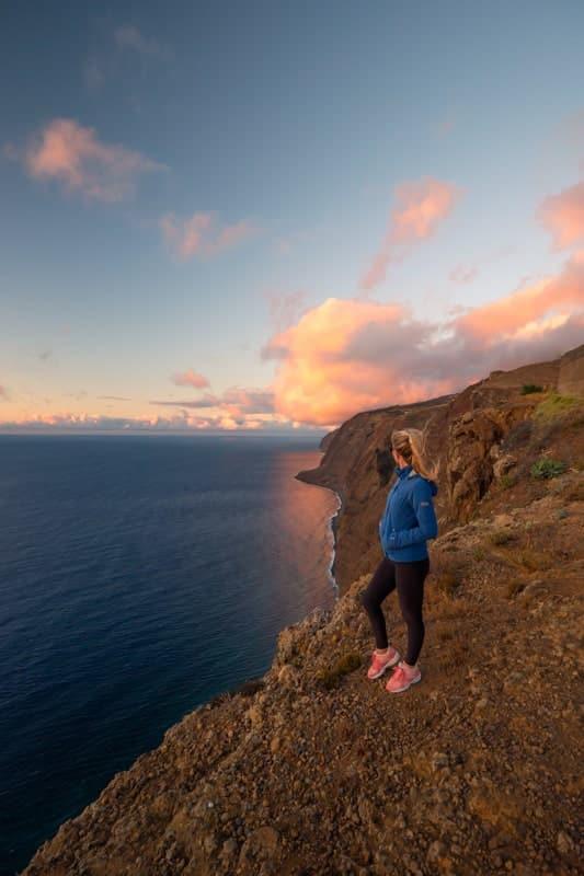 ponta-do-pargo-cliff-sunset